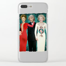 Golden Girls - Death Becomes Her Clear iPhone Case