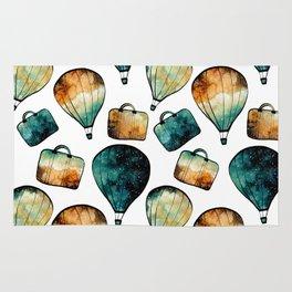 Galaxy Balloon Pattern 02 Rug