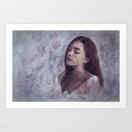 Deep Soul 21 Art Print