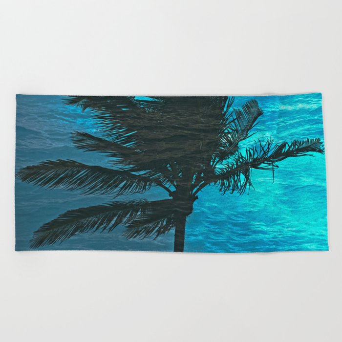 SWIMMING PALM Beach Towel