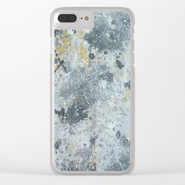 Abstract painting 100 Clear iPhone Case