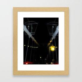 Yellow Light Framed Art Print
