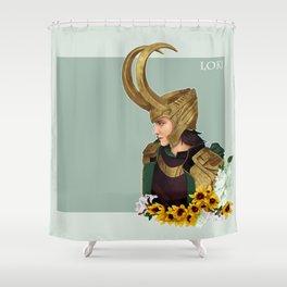 Loki Shower Curtain