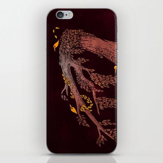 Tree Birds iPhone Skin