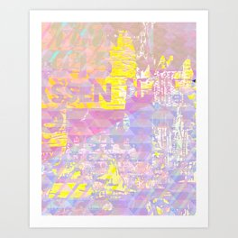 Exotic Digital Painting Art Print