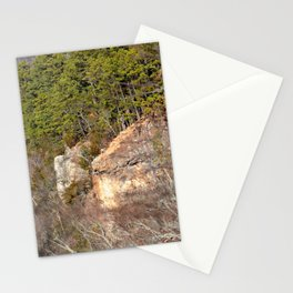 Climbing Up Sparrowhawk Mountain above the Illinois River, No. 3 of 8 Stationery Cards