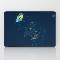 blueprint iPad Cases featuring Blueprint Waka-Waka by Manny Peters Art & Design