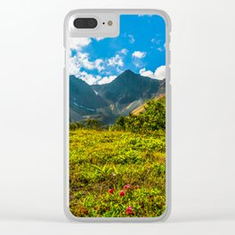 Vicinity of the volcano Vachkazhets Clear iPhone Case