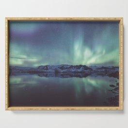 Jokulsarlon Lagoon - Landscape and Nature Photography Serving Tray
