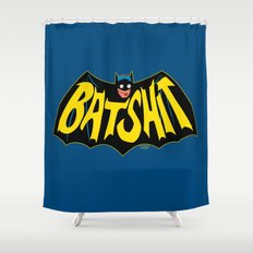 BATSHIT Shower Curtain