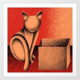 Soon (Electric Catnip) Art Print
