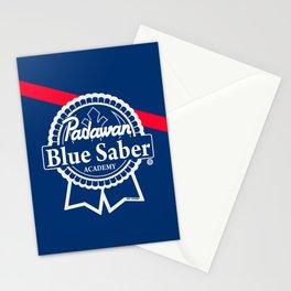 Padawan Blue Saber Academy Stationery Cards