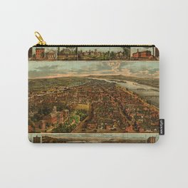 Harrisburg Panorama 1885 Carry-All Pouch