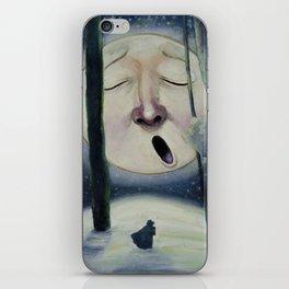 Midwinter's Moon iPhone Skin