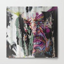Dumpster Art Metal Print