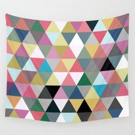 Triangular pattern Wall Tapestry