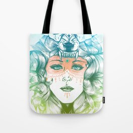 Wolf Mother Tote Bag
