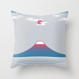 snow mountain 02 Throw Pillow
