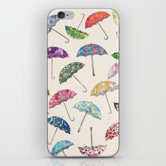 Umbrella & umbrellas iPhone & iPod Skin
