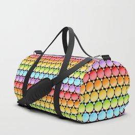 Rainbow Dotty Stripes Duffle Bag