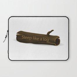 Sleep Like a Log Laptop Sleeve