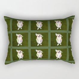 Welsh Corgi Rectangular Pillow