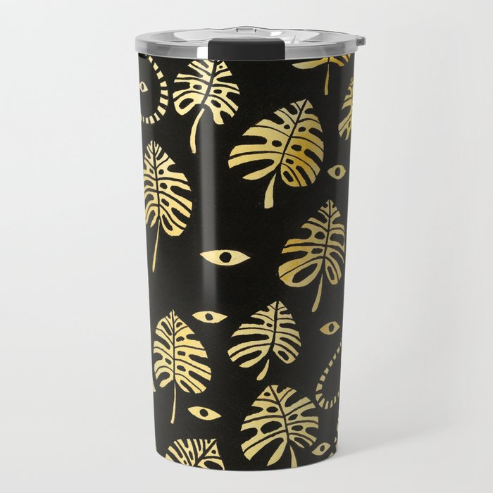 Tiger jungle animal pattern Travel Mug