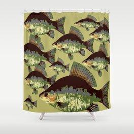 Sun Fish Shower Curtain