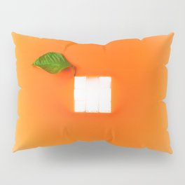 Orange out of the box Pillow Sham
