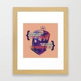 Idris - Doctor Who Framed Art Print