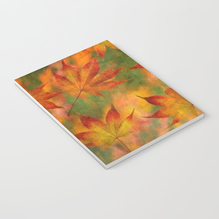 Falling Leaves - Autumn Notebook