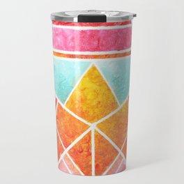 Fish - Colorful Geometric Travel Mug