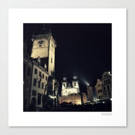 Stunning Old Town Square, Prague Canvas Print