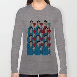 different heart Long Sleeve T-shirt