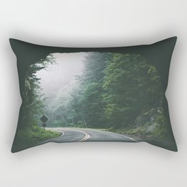Through The Tunnel Rectangular Pillow