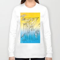 theater Long Sleeve T-shirts featuring Theater by Boris Burakov