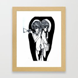 NO Regular Play Poster Framed Art Print