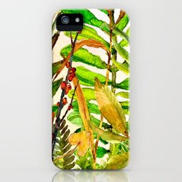 Woodland Meadow 1 iPhone Case
