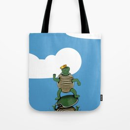 Yertle The Turtle Tote Bag