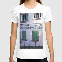 La Maison Rose Montmartre Paris T-shirt
