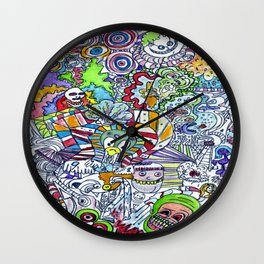 FUNHOUSE Wall Clock