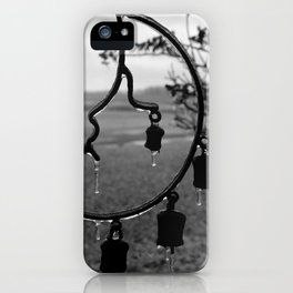 frozen cresant night iPhone Case