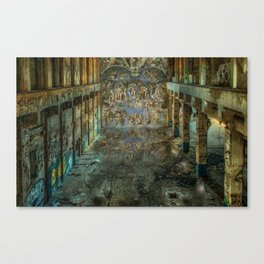 Apocalyptic Vision of the Sistine Chapel Rome 2020 Canvas Print
