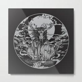 DREAMTIME - BLACK Metal Print