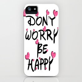 Heart touching iPhone Case