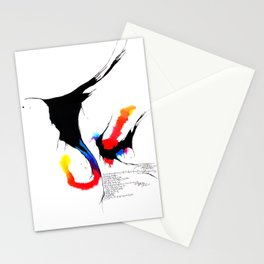 fissures #4 Stationery Cards