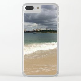 Beautiful gloomy day Clear iPhone Case