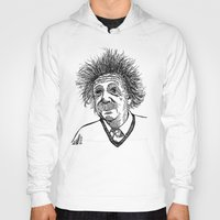 einstein Hoodies featuring Einstein by AlphaVariable
