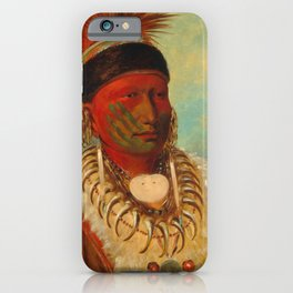 The White Cloud, Head Chief of the Iowas iPhone Case
