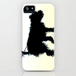 Blues Dog iPhone Case